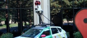 El auto que recorre Argentina capturando imágenes.