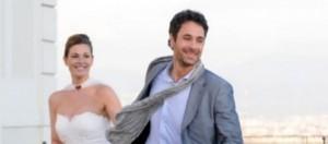 Angeli, con Raoul Bova e Vanessa Incontrada