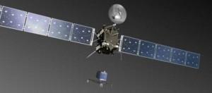 La sonda Rosetta sta arrivando sulla cometa.