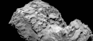 Una delle ultime immagini ravvicinate della cometa
