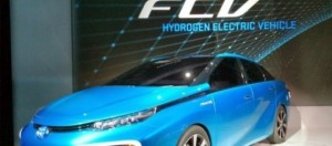 El Toyota Mirai el primero de hidrógeno 1
