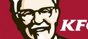 Logo pollo fritto KFC, colonnello Sanders