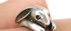 #6 Bunny Ring - Anel de Coelhinho