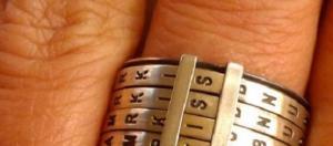 #9 Scrabble Ring -