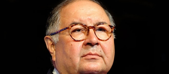 Le milliardaire russe Alisher Usmanov