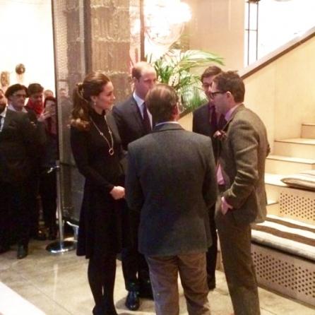 Kate Middleton e il Principe William a New York