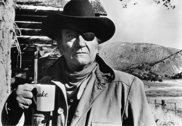 John Wayne por Phil Stern