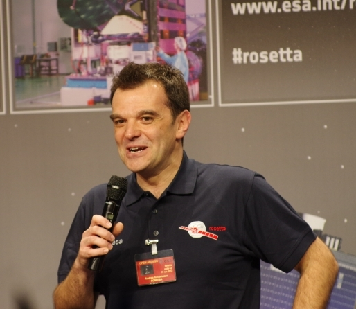 Andrea Accomazzo, diretor operacional da Rosetta.