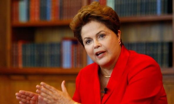 Dilma Rousseff, Presidente da República do Brasil.