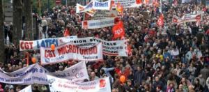Mouvements de grève généralisé.