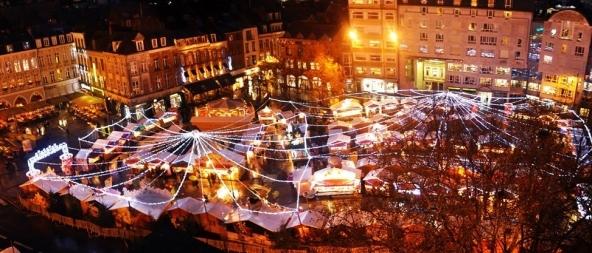 Marché de Noël de Lille .