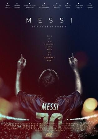 Messi, portada de cartelra