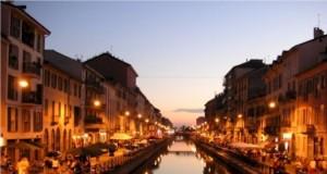 Milano, i Navigli versione serale