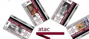 Tessere e biglietti Atac per commemorare l'evento