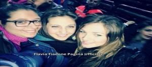 Flavia Fiadone al concerto di Alessandra Amoroso