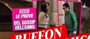 Notte di passione per Gigi Buffon e Ilaria D'Amico