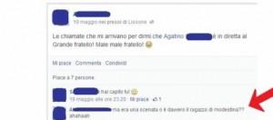 Altri messaggi sulla bacheca di Agatino