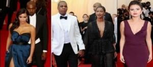 Beyoncè con marito, Kim Kardashian con compagno