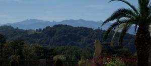 paysage de Pau, la ville fleur