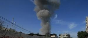 Gaza: abitanti in fuga dalle loro case