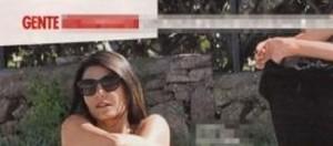 Gossip, Ilaria D'Amico si spoglia: foto Gente