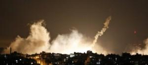 Immagini della guerra con missili e bombe!