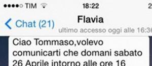 Uomini e donne news: Tommaso Scala Flavia Fiadone