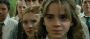 Emma Watson, la pequeña Hermione