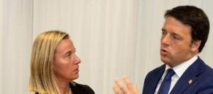 Premier Renzi e Lady Pesc Federica Mogherini