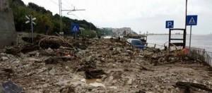 I lungomare di Levante dopo l'alluvione