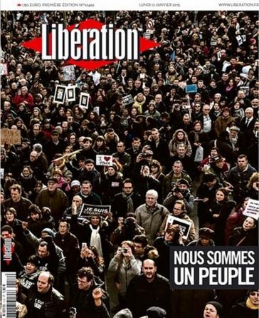 Le peuple réuni célèbre sont envie de liberté