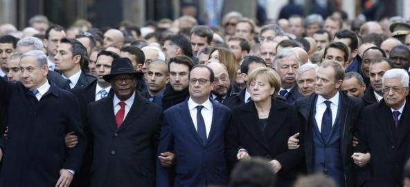 Manifestazione di domenica contro il terrore