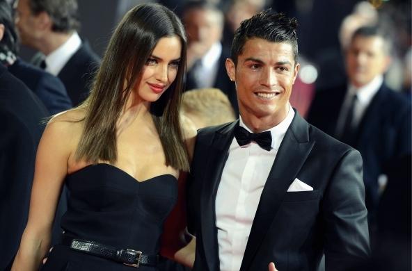 Cristiano Ronaldo with Irina