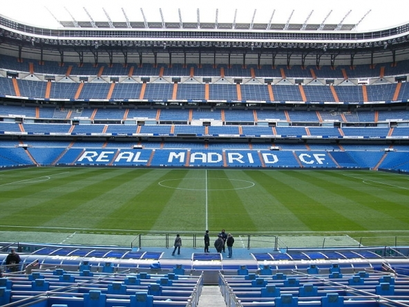 Real Madrid stadium Santiago Bernabeu
