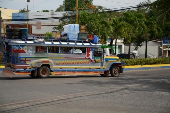 Jeepney à Puerto Princessa Palawan.