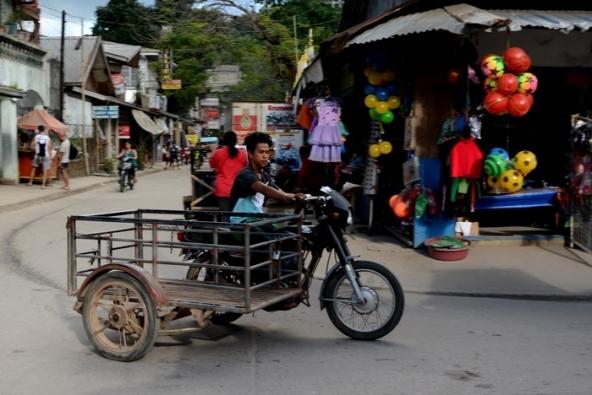 La version utilitaire du tricycle.