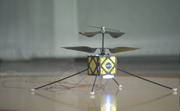 Mini-helicópteros em Marte-3