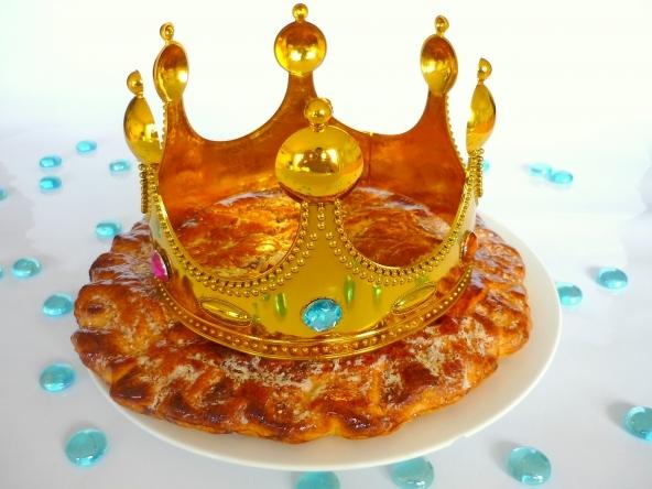 Une couronne pour le roi d'un  jour.
