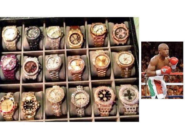 Coleção de Relógios - Floyd Mayweather