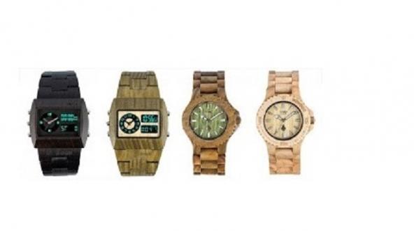 Relógios de Madeira - Marca We Wood