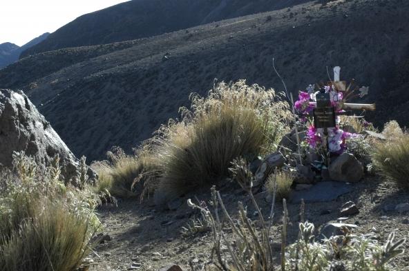 Croix en mémoire de randonneurs au Pic d'Orizaba