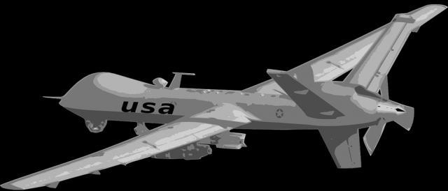 Drone utilizado pelo exército dos EUA.