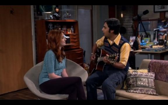 The Big Bang Theory 9x04, Emily e Raj