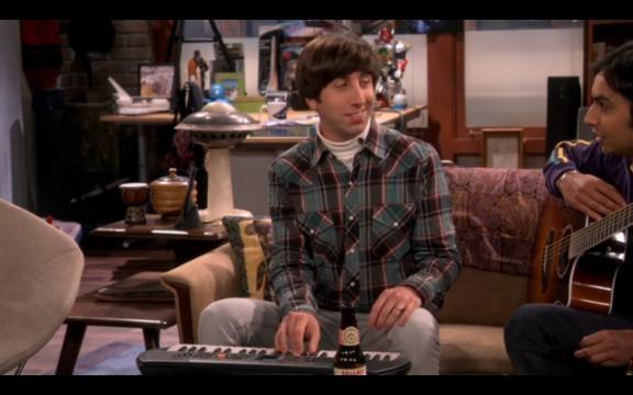 The Big Bang Theory 9x04, Howard e Raj