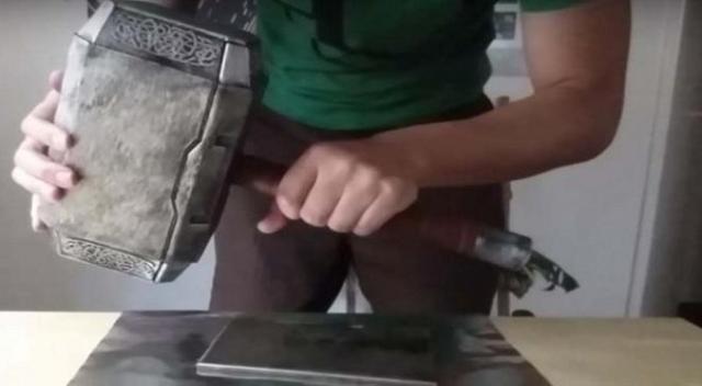 La mejor réplica del Mjolnir ¿Te gusta?