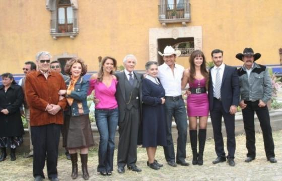 Elenco principal da novela mexicana 'A Dona'
