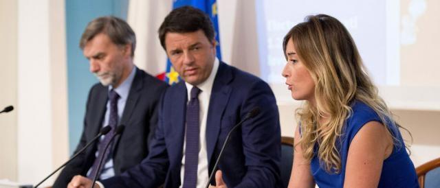 Il Senato premia il lavoro del duo Renzi-Boschi