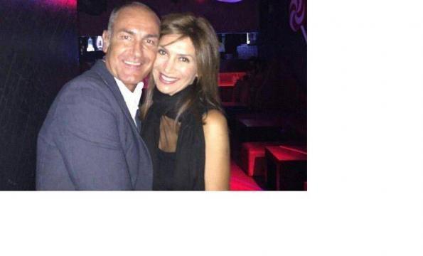 Barbara De Santi ed il nuovo fidanzato Massimo.
