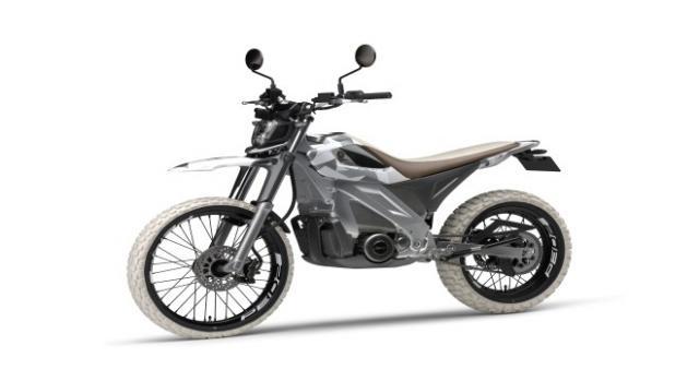 Conceito elétrico Dirt Sport PED2.