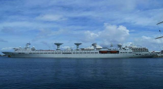 Joint naval drills in South China Seas.